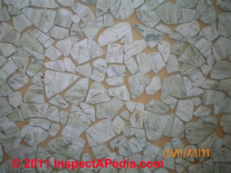 inspect test  identify resilient flooring