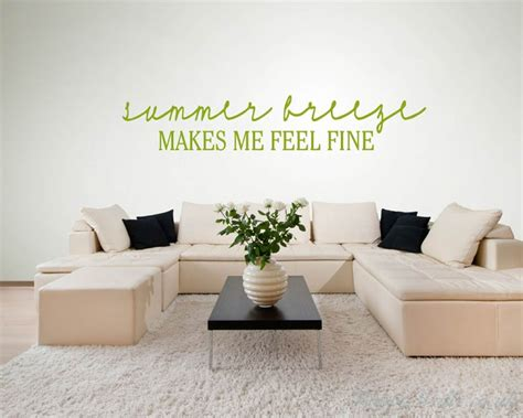 summer breezebeach wall quotes words removable beach