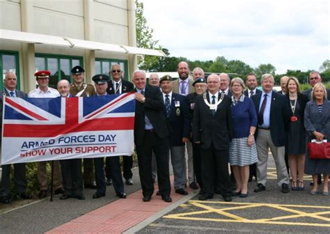 Breckland Council Raises Flag Ahead Of Armed Forces Day