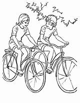 Coloring Pages Sports Printable Bike Sheets Riding Adult Bikes Bicycle Drawing Ride Raisingourkids Boys Activity Child Bluebonkers Books Help Together sketch template