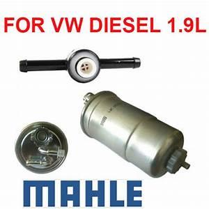 Oem 1 9 Diesel Fuel Filter  U0026 Check Valve For Vw Beetle