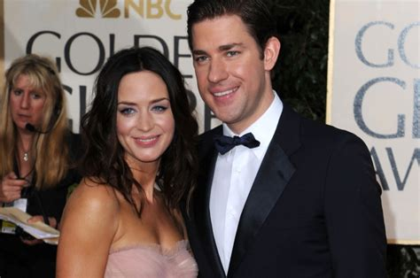 The couple is living a happy. Emily Blunt regrets giving herself a spray tan for her wedding