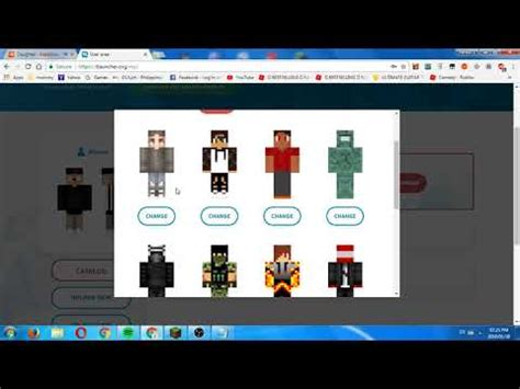 change skin minecraft pc tlauncher youtube