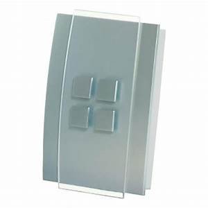 Honeywell Decor Wired Door Chime With Brushed Nickel Cover  Rcw3501n1004  N