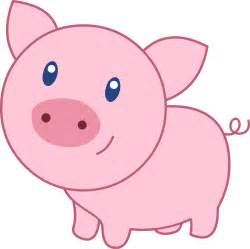 Cute Cartoon Pig Clip Art