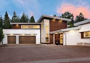 Modern garage doors canyon ridge collection modern for 12 foot wide garage door prices