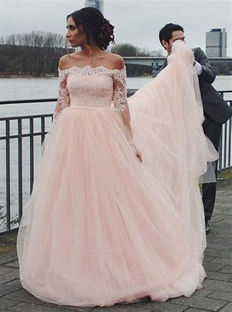 blush wedding dressesoff  shoulder wedding dress