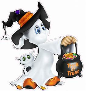 Cute Halloween Ghost Wall Decor Decal - Nostalgia Decals