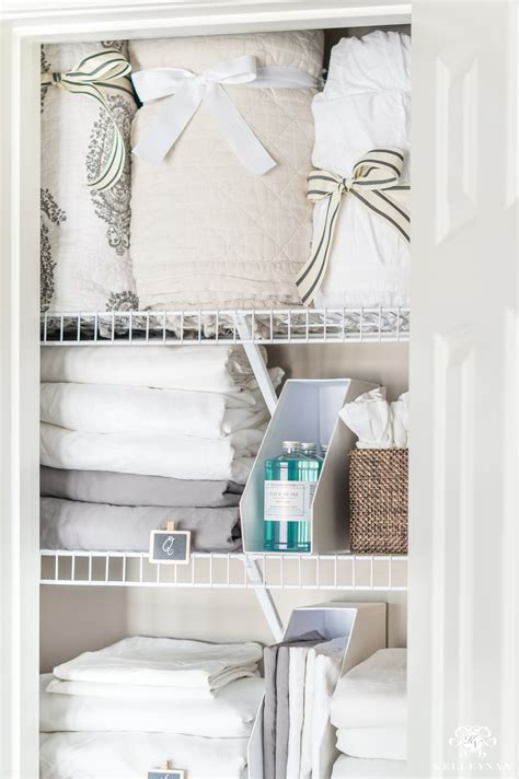 fresh fit linen a small organized linen closet and ideas to store bulky