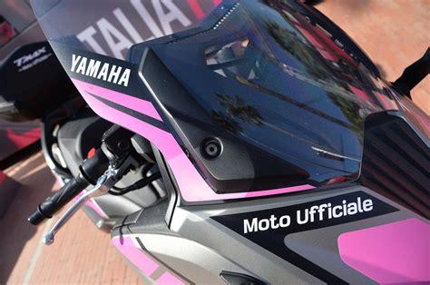D Italia Cambio Ufficiale Yamaha Il Nuovo Yamaha Tmax 232 La Moto Ufficiale Giro