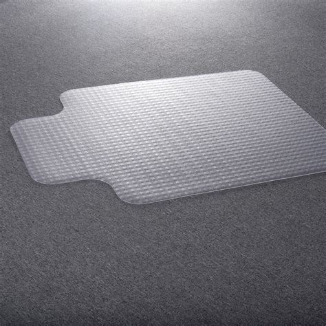 pvc chair mat for standard pile carpet chair office mat