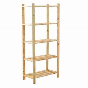 Etagere En Pin : pine shelf ~ Teatrodelosmanantiales.com Idées de Décoration