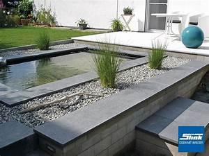 Wasserbecken Aus Beton : gfk teichbecken wasserbecken rechteckig 240 x 120 x 100 cm ~ Michelbontemps.com Haus und Dekorationen