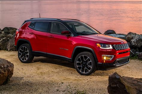 jeep compass 2017 red 2017 jeep compass suv pricing features edmunds