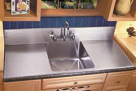Kitchen Sinks Large Apron Basins With Steel Backsplash