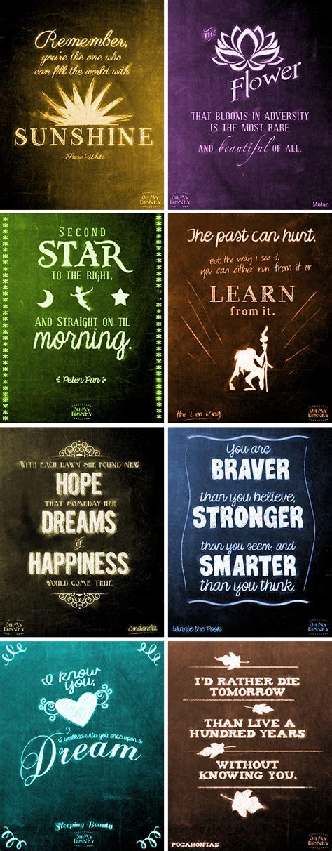 Beautiful Disney Quotes  Disney, Weisheiten und Zitat