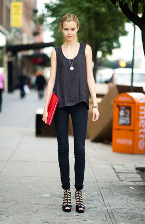 CANT GET MORE SKINNY THAN THESE SEXY PANTS ...