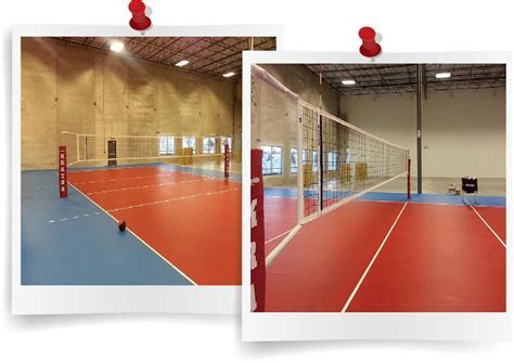 PVC Flooring For Indoor Volleyball Courts   TopJoySports