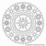 Mandala Colour 4free Mandalas sketch template