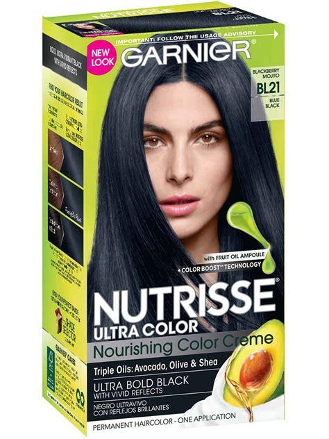 Color On Black Hair by Nutrisse Ultra Color Reflective Blue Black Hair Color