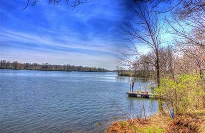 Scenery Lake Sangchris Illinois Park State States