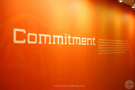 commitment wall commitment   transforms