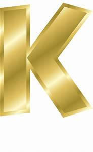 gold letter capitol k signs symbol alphabets numbers With gold letter k