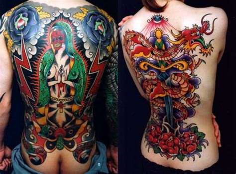 tattoos | Eccentric lower back tattoos