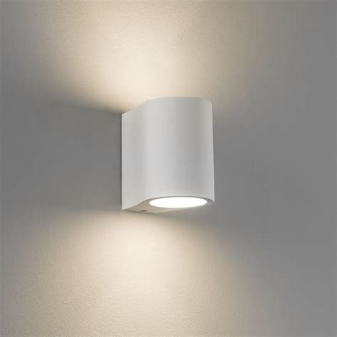 astro lighting 0812 pero white up and down plaster wall light