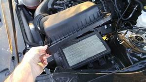 Change The Engine Air Filter On A 2015  Ford Mustang 3 7l V6