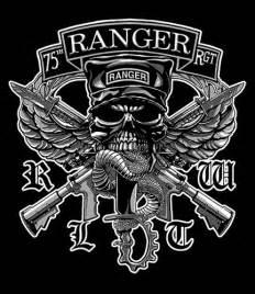Army Ranger Skull