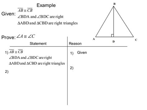 44 & 45 & 52 Proving Triangles Congruent