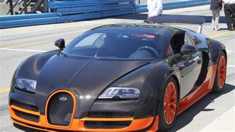 Bugatti Veyron Super Sport's Top Speed Will Be 10 Mph Less