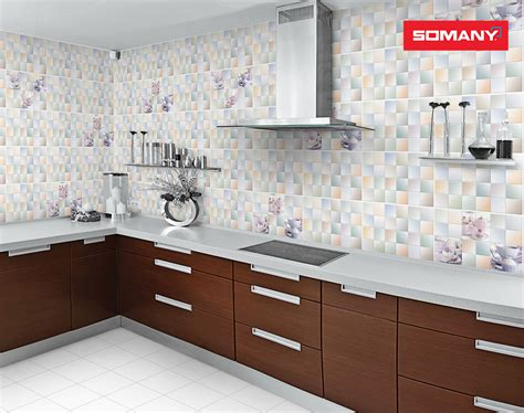 tiles design in kitchen somany ceramics 6205