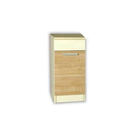 meuble cuisine 30 cm de large meuble bas cuisine elise 30 cm 1 porte 1 étagère mélaminé bois