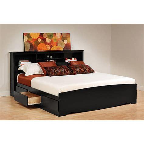 king bookcase platform storage bed black 6 drawer king size platform storage bed bookcase