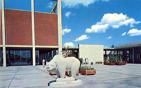 Northland Shopping Mall Southfield MI Boy and Bear sculptu ...