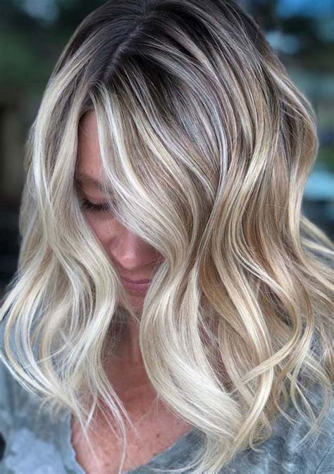 balayage highlights hair color trends