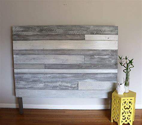 White Rustic Headboard by 25 Best Ideas About Diy Headboard Wood On