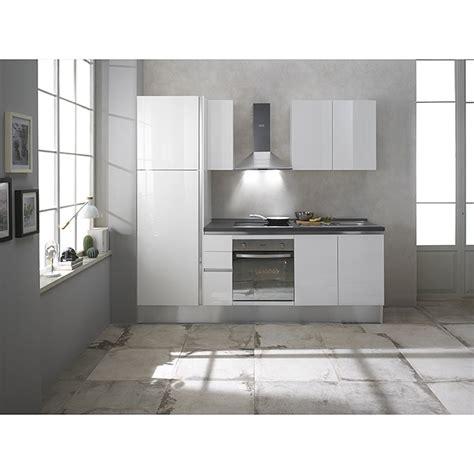 arbeitsplatte küche bauhaus k 252 chenzeile giulia breite 245 cm mit elektroger 228 ten wei 223 4157 fertigk 252 chen dcfa