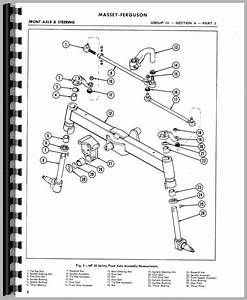 35 Massey Ferguson To35 Parts Diagram