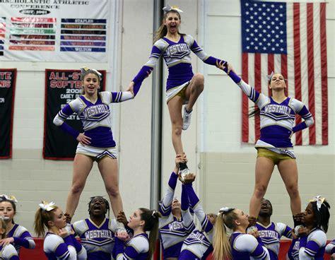 ludlowe wins fciac cheerleading newstimes