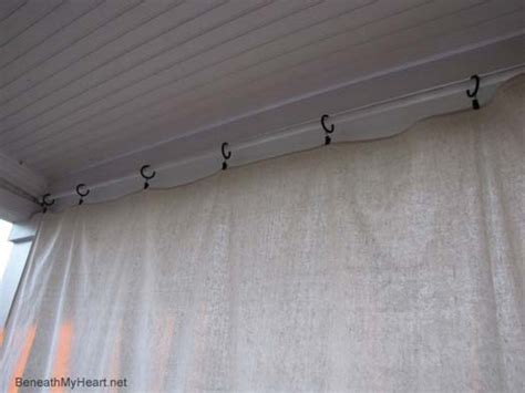 how to hang a curtain rod from drop ceiling myminimalist co