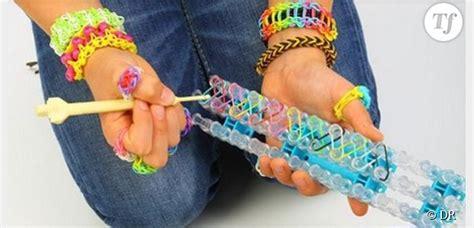 bracelet elastique tuto rainbow loom fabriquer bracelet 233 lastique 224 la sans machine le tuto d 233 butant vid 233 o