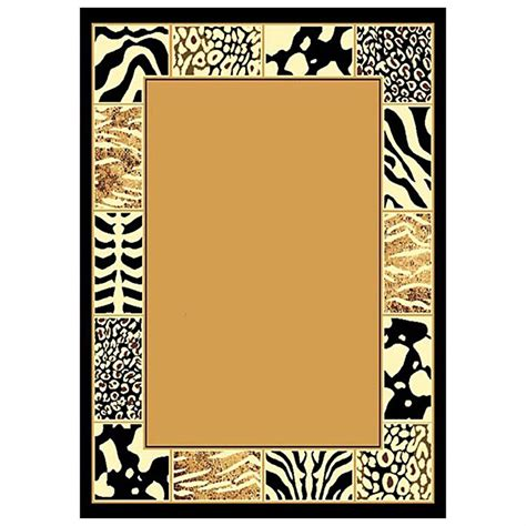 Jungle Safari Leopard Animal Print Wallpaper Border - animal prints border area rug 226521 rugs at sportsman
