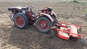Pasquali Tractor Tocatoare Si Grebla Curatare Teren