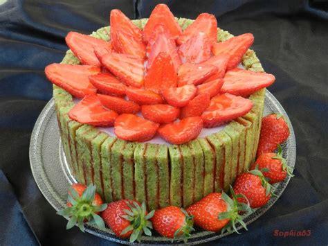 fraisier pistache aux cake ideas and designs