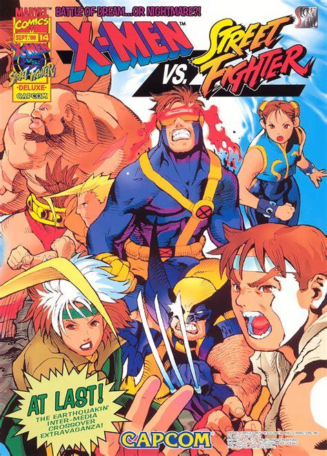 X Men Vs Street Fighter Marvel Database Fandom