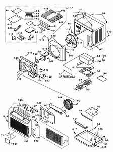 Sharp Model Af-r55bx Air Conditioner