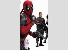 Wallpaper Deadpool 2, Domino, Deadpool, Cable, Josh Brolin
